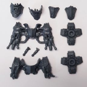 Chaos Space Marine Hellbrute Legs Assembly